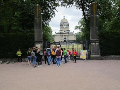Eingang Zoo Dessau