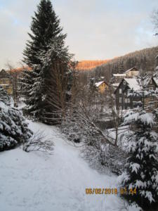 Winter in Haselbach