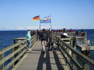 Tagesausflug Boltenhagen Seebrücke
