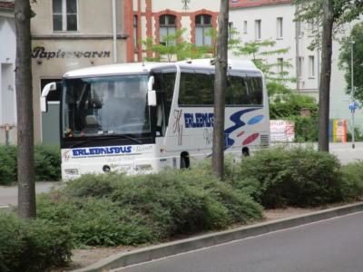 Busparkplatz Dessau